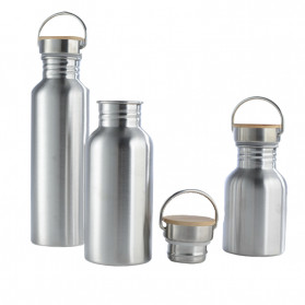Mtuove Botol Minum Insulated Thermos Stainless Steel 500ml - YM006 - Silver - 3