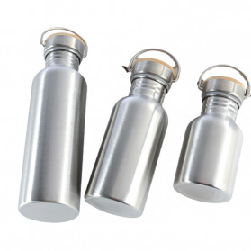Mtuove Botol Minum Insulated Thermos Stainless Steel 500ml - YM006 - Silver - 4