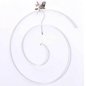 EECOO Gantungan Jemuran Spiral Kain Selimut Sprei Handuk Drying Rack - AMW-01 - White - 6