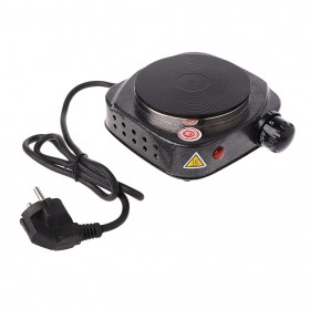 Adoolla Kompor Listrik Mini Hot Plate Electric Cooking 500W - DLD-101A - Black