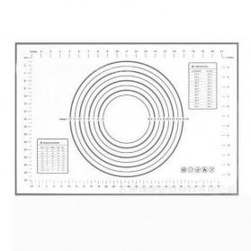 AMW Baking Mat Alas Adonan Kue Fondant Silikon - JJ34005 - Black