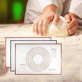 AMW Baking Mat Alas Adonan Kue Fondant Silikon - JJ34005 - Black - 2
