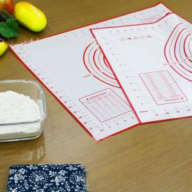 AMW Baking Mat Alas Adonan Kue Fondant Silikon - JJ34005 - Black - 4