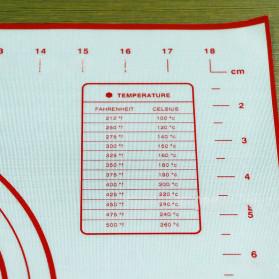 AMW Baking Mat Alas Adonan Kue Fondant Silikon - JJ34005 - Black - 5