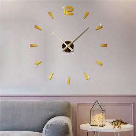 Jam Dinding DIY Giant Wall Clock Quartz Creative Design - DIY-114 - Black - 4