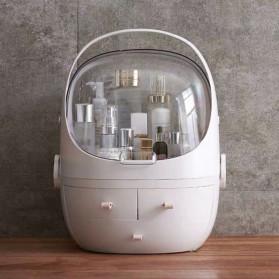 Mordoa Kotak Rak Make Up Kosmetik Storage Box Clamshell Organizer - 1970 - White - 3