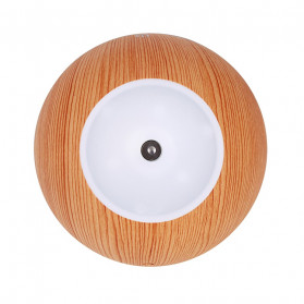 Taffware Air Humidifier Ultrasonic Aromatherapy Oil Diffuser Wood Design 130ml - NM007 - Wooden - 8