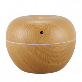 Taffware Ultrasonic Humidifier Aroma Essential Oil Diffuser Wood Design 130ml - HUMI AUG17 - Wooden - 3
