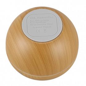 Taffware Ultrasonic Humidifier Aroma Essential Oil Diffuser Wood Design 130ml - HUMI AUG17 - Wooden - 4