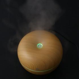 Taffware Ultrasonic Humidifier Aroma Essential Oil Diffuser Wood Design 130ml - HUMI AUG17 - Wooden - 5