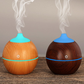 Taffware Air Humidifier Ultrasonic Aromatherapy Oil Diffuser 130ml - K-H120B - Dark Brown - 6