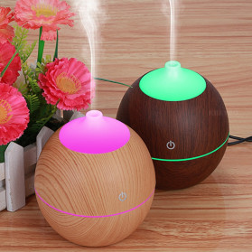 Taffware Ultrasonic Humidifier Aroma Essential Oil Diffuser 130ml - K-H120B - Wooden - 5