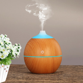 Taffware Ultrasonic Humidifier Aroma Essential Oil Diffuser 130ml - K-H120B - Wooden - 7
