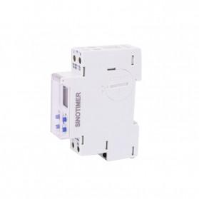 Sinotimer DIN Rail Power Timer Programmable Time Switch Relay 18mm 220V - TM610-2 - White - 2