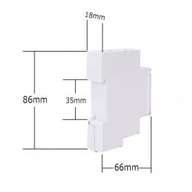 Sinotimer DIN Rail Power Timer Programmable Time Switch Relay 18mm 220V - TM610-2 - White - 6