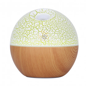 Taffware Air Humidifier Ultrasonic Aromatherapy Oil Diffuser RGB Light 130ml - J-008 - Wooden - 5