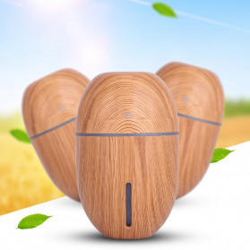 Taffware Air Humidifier Ultrasonic Aromatherapy Oil Diffuser Wood Design 300ml - J-010 - Wooden