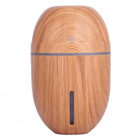 Taffware Ultrasonic Humidifier Aroma Essential Oil Diffuser Wood Design 300ml - J-010 - Wooden - 6