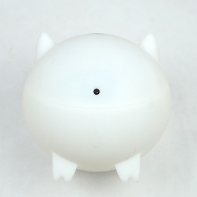 XProject Ultrasonic Humidifier Aroma Essential Oil Diffuser Cute Pig Design 300ml - KEP-01 - White - 3