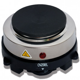 Cnzidel Pemanas Kopi Susu Air Minuman Mini Heater Stove Pot 500W - CK500 - Black - 3