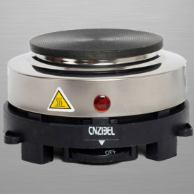 Cnzidel Pemanas Kopi Susu Air Minuman Mini Heater Stove Pot 500W - CK500 - Black - 4