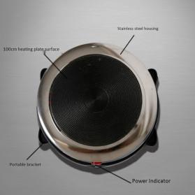 Cnzidel Pemanas Kopi Susu Air Minuman Mini Heater Stove Pot 500W - CK500 - Black - 5