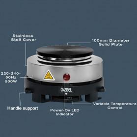 Cnzidel Pemanas Kopi Susu Air Minuman Mini Heater Stove Pot 500W - CK500 - Black - 7
