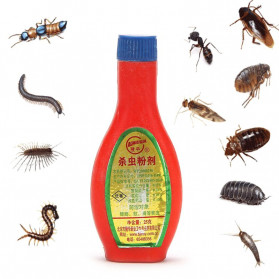 LONGHUA Bubuk Racun Pembasmi Serangga Powder Insektisida 25gr - IP25 - Red