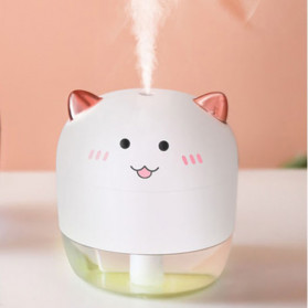 XProject Air Humidifier Essential Oil Diffuser Cute Design 200ml - WT-H21B - White - 1