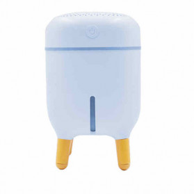 XProject Air Humidifier Aromatherapy Oil Diffuser Cute Design 240ml - H433 - White - 2