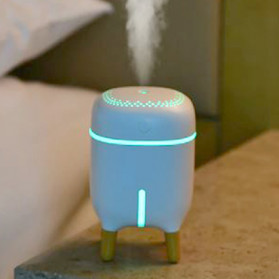 XProject Air Humidifier Aromatherapy Oil Diffuser Cute Design 240ml - H433 - White - 7