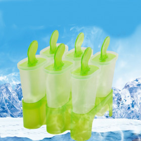 ENHOR Cetakan Es Krim Frozen Ice Cream Molds 6 Slot - XH1004B - Mix Color - 2