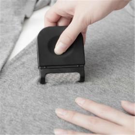 Fuzz Trimmer Portable Lint Remover Penghilang Bulu Serat Kain - CR-A016 - Black