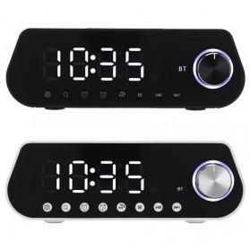 LEADSTAR Jam Meja LED Digital Clock Bluetooth Speaker - MX23 - Black - 5