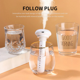 LOVELY Ultrasonic Air Humidifier Aromatherapy Oil Diffuser Portable Celup - X7 - Blue - 7