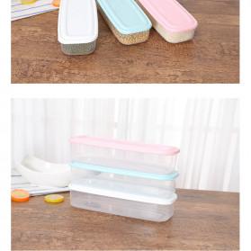 Strongwell Kotak Kontainer Makanan Kulkas Kitchen Storage Food Box - SW804 - White - 5