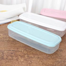 Strongwell Kotak Kontainer Makanan Kulkas Kitchen Storage Food Box - SW804 - White - 8