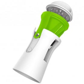 BEEMSK Parutan Serbaguna Handheld Portable Spiralizer Vegetable Slicer - A042 - Light Green - 1