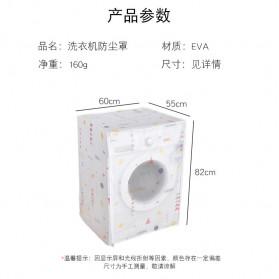CHENAN Cover Mesin Cuci - CN537 - Transparent - 10