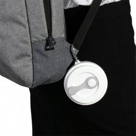 ACEBON Gelas Cangkir Lipat Silikon Foldable Travel Mug 350ml - GY800 - Gray - 8
