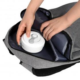 ACEBON Gelas Cangkir Lipat Silikon Foldable Travel Mug 350ml - GY800 - Gray - 9