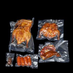 Luckima Kantong Plastik Vacuum Sealer Storage Bag 17 x 25 cm 100PCS - HK-08 - Transparent - 5