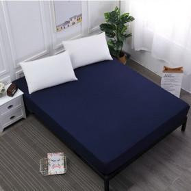 ZGZIZAO Sprei Selimut Kasur Bed Sheet Cover Waterproof 150x200x30CM - SLJF201 - Blue