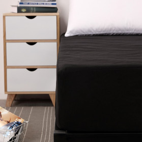 ZGZIZAO Sprei Selimut Kasur Bed Sheet Cover Waterproof 150x200x30CM - SLJF201 - Blue - 2