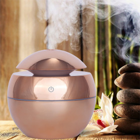 DELIXING Ultrasonic Air Humidifier Diffusers Aromatherapy USB 130ml - RJS62 - Golden - 3