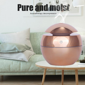 DELIXING Ultrasonic Air Humidifier Diffusers Aromatherapy USB 130ml - RJS62 - Golden - 5