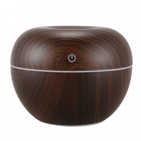 XProject Ultrasonic Humidifier Essential Oil Diffuser 130ml - K-H150 - Dark Brown