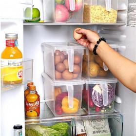 Strongwell Kotak Kontainer Makanan Kulkas Kitchen Storage Food Box 31 x 15.6 x 16 cm - SW804-L - Transparent - 2