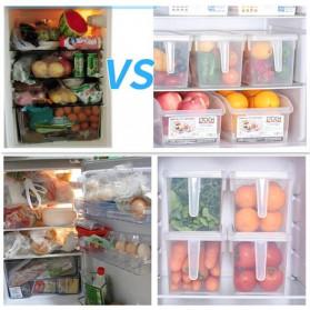 Strongwell Kotak Kontainer Makanan Kulkas Kitchen Storage Food Box 31 x 15.6 x 16 cm - SW804-L - Transparent - 3