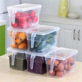 Strongwell Kotak Kontainer Makanan Kulkas Kitchen Storage Food Box 29x14.5x14.5CM - SW804-S - Transparent - 4